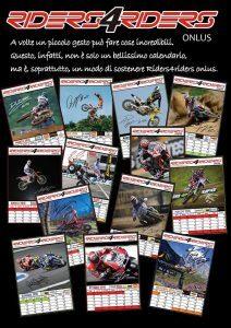 riders4riders calendar 2017