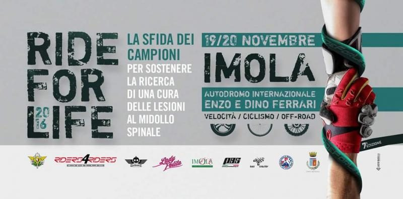 Locandina programma Ride for Life 2016