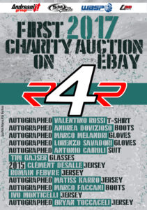 first ebay charity auction riders4riders 2017