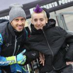 Dovizioso con Alessandro Di Mauro, uniti per Riders4Riders